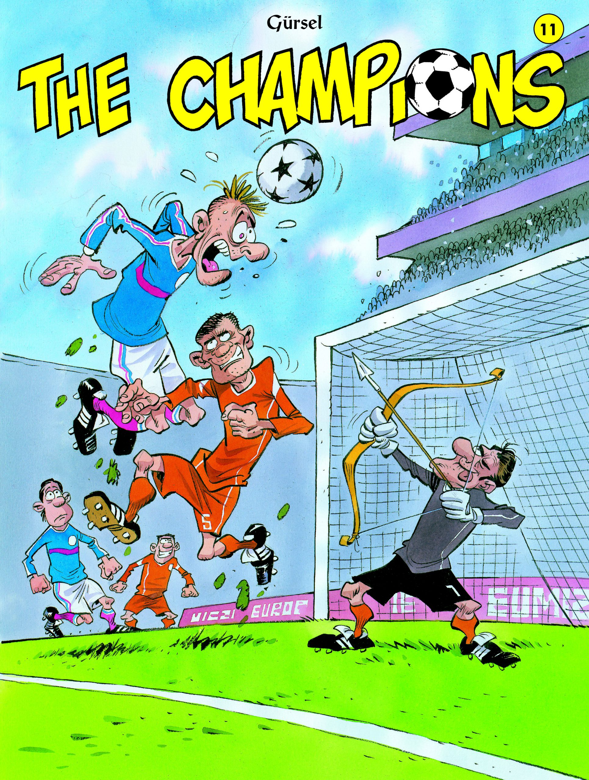 The Champions strip deel 11