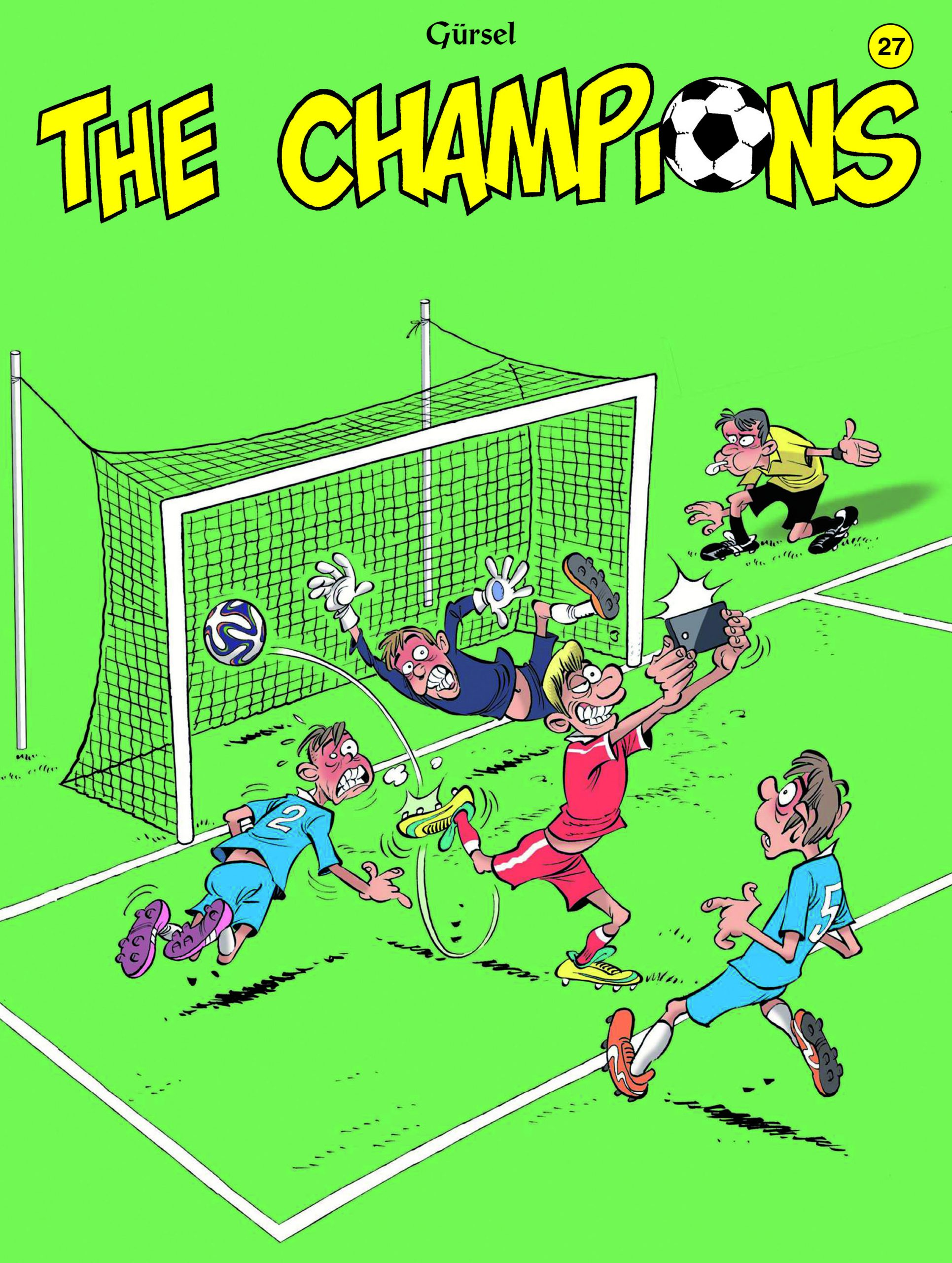The Champions strip deel 27