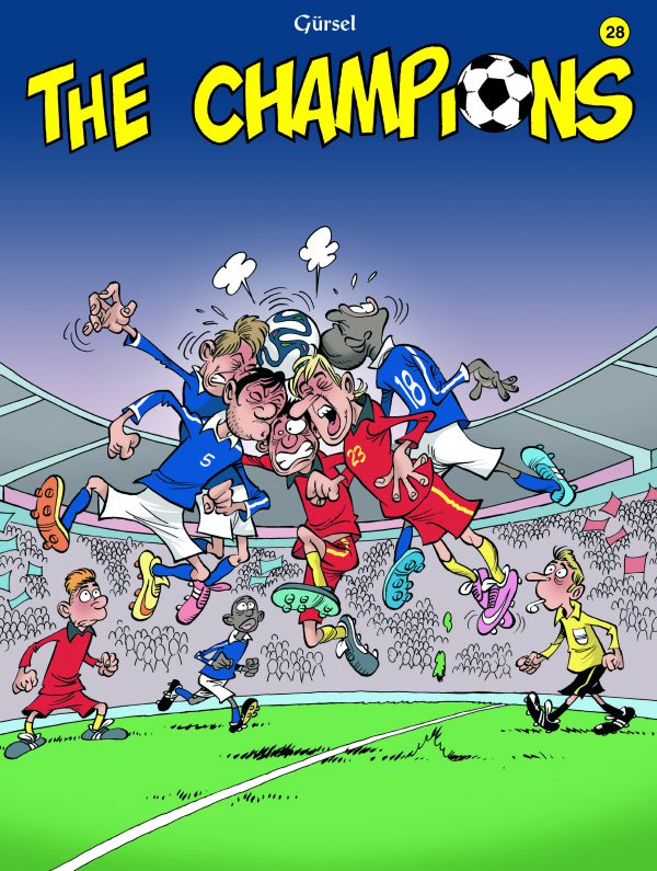 The Champions strip deel 28
