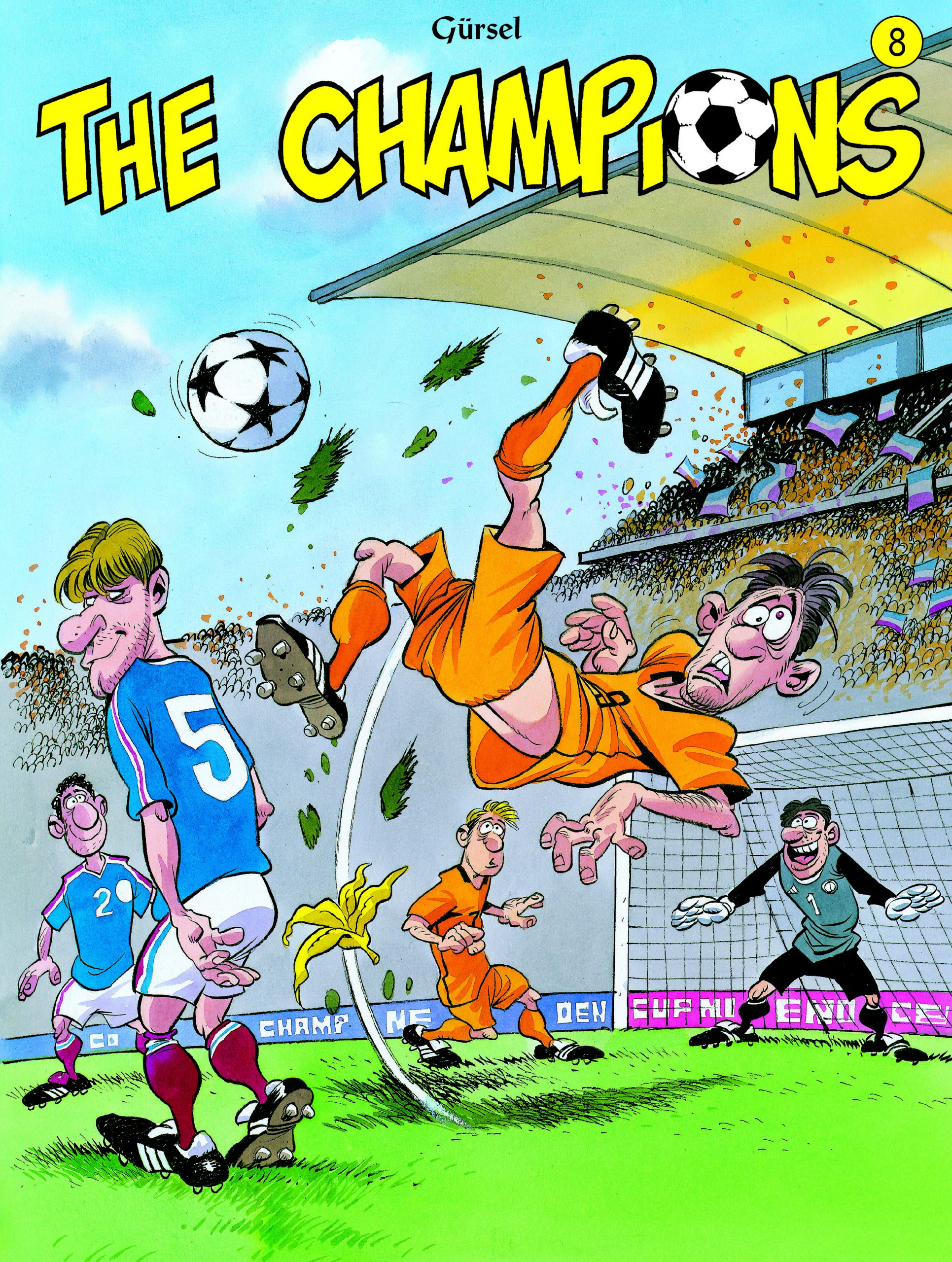The Champions strip deel 8