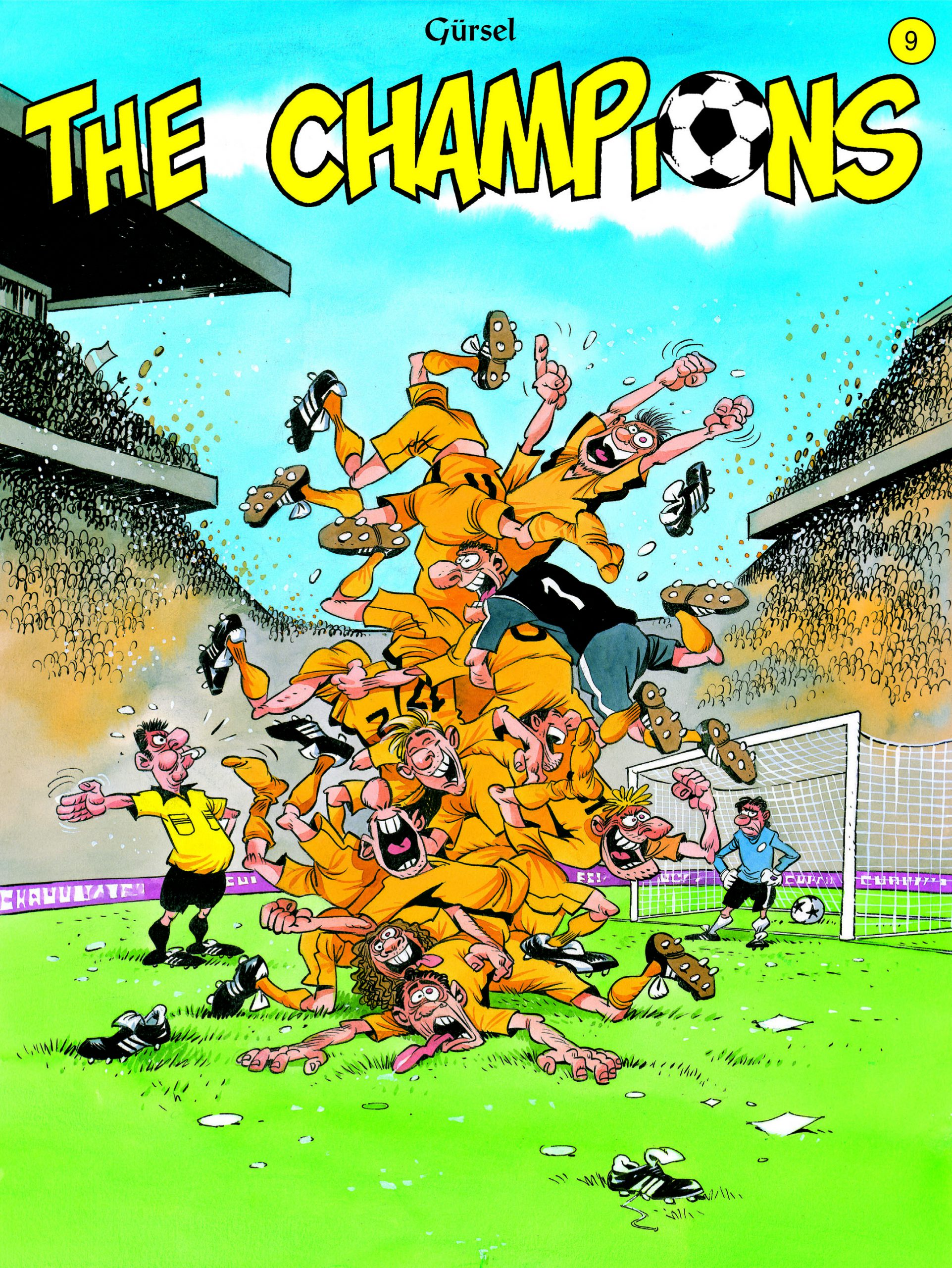 The Champions strip deel 9