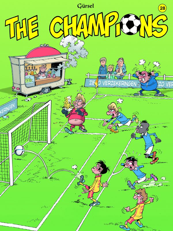The Champions 28 stripboek