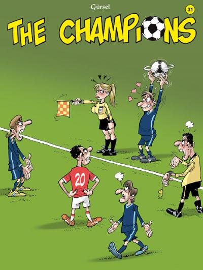 The Champions strip deel 31